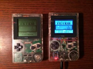 Original Pocket on left, modified shell with Raspberry Pi on the right